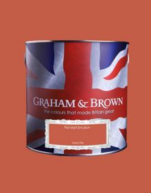 Graham & Brown Matt emulsion great fire paint