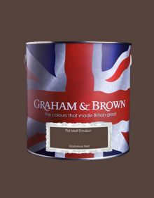 Graham & Brown Matt emulsion glastonbury field paint