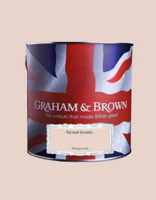 Graham & Brown Matt emulsion princess to be paint