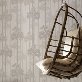 Graham & Brown Cream Nottingham Wallpaper