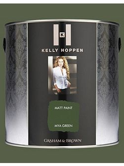 Kelly Hoppen 2.5L Matt emulsion mya green paint