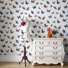 Graham & Brown Pearl Flutter Wallpaper