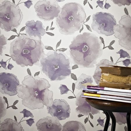 Graham & Brown Poppies Wallpaper Sample