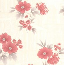 Graham & Brown Red Rome Wallpaper