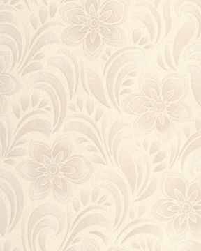 Graham & Brown Cream Jacquard Floral Wallpaper