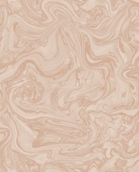 Graham & Brown Marbled Rose Gold Metallic Wallpaper