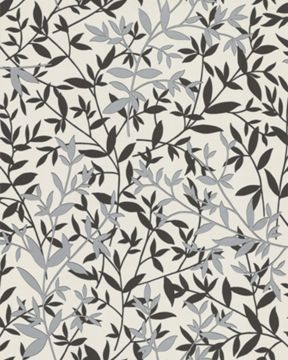 Graham & Brown Black/white bijou wallpaper