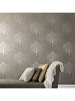 Enchant Golden Brown Wallpaper Sample