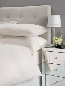 Christy Satin bed linen range in ivory