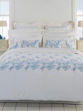 Christy Anna bedlinen in cornflower
