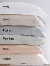 Christy Egyptian pd oxford rect pillowcase cream