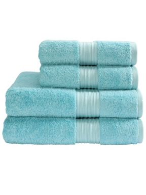 Christy Supreme towel range in icicle