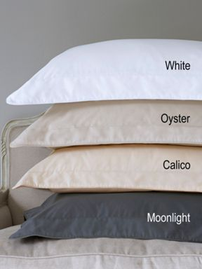 Christy 420 thread count cotton bed in oyster