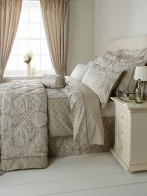 Christy Regency bed linen in latte