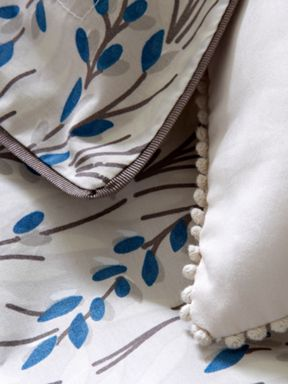 Christy Elouise bed linen in natural