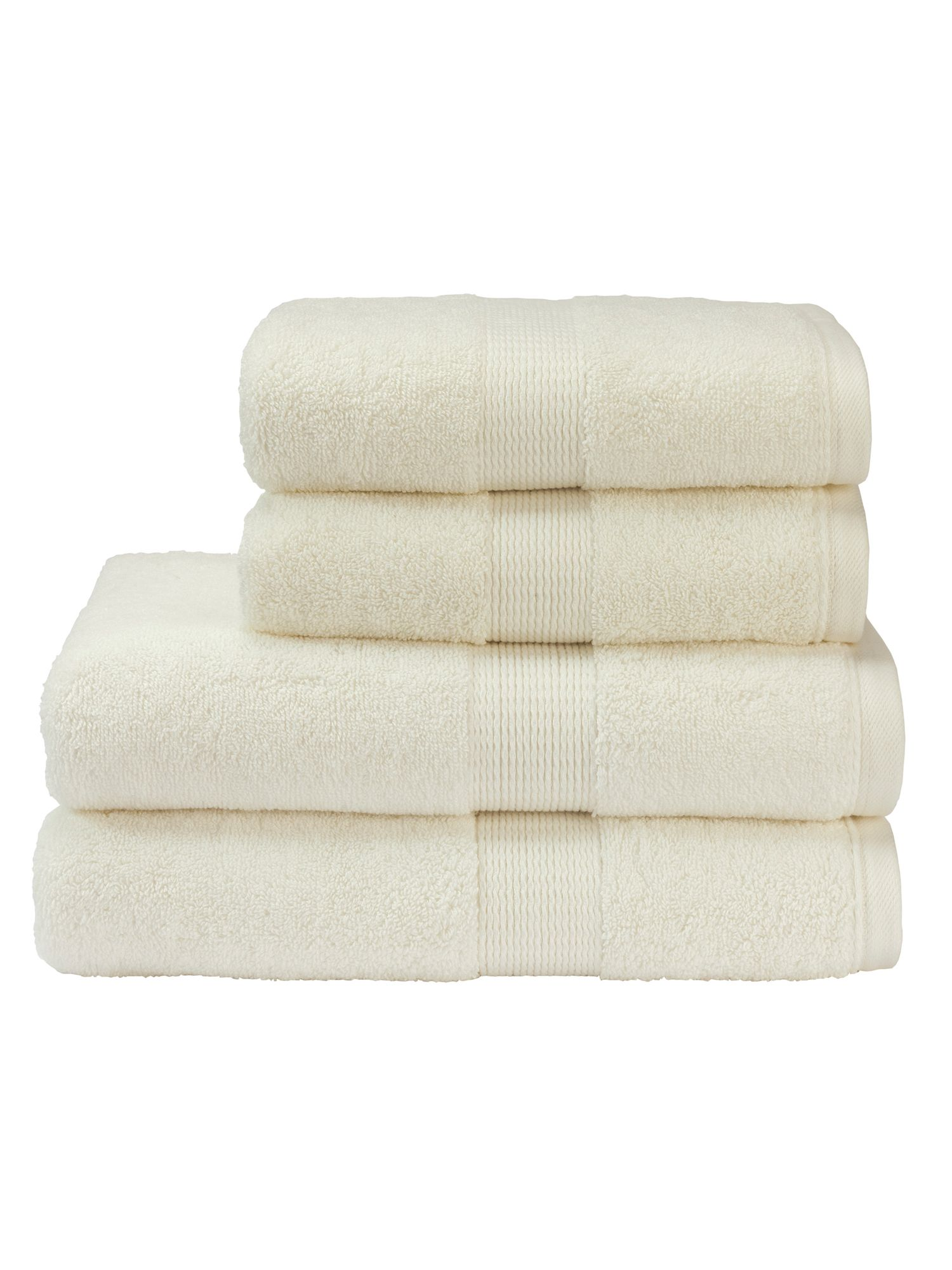 Toledo towels in Cream