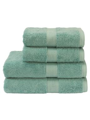 Christy Toledo towels in teal