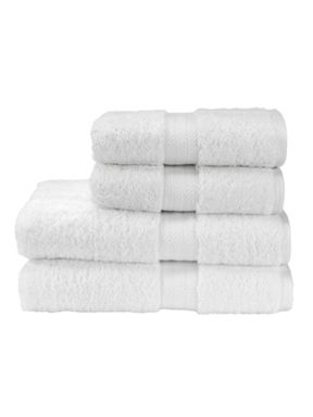 Christy Ren04 towel range in white