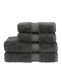 Christy Ren04 towel range in ash grey