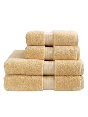 Christy Elegance towels in sand