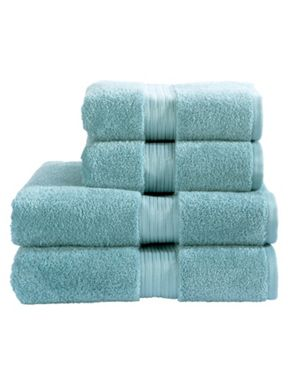 Christy Elegance towels in twilight