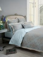Christy Fitzroy damask bed linen range in oyster