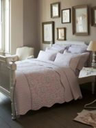 Ditton Hill Liberty damask bed linen sets in pink