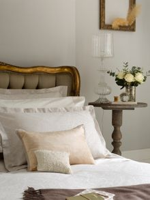 Mandalay bed linen in neutral