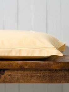 Christy Satin Stitch Sking flat Sheet honey