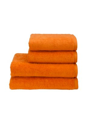 Christy Revive towels nectarine