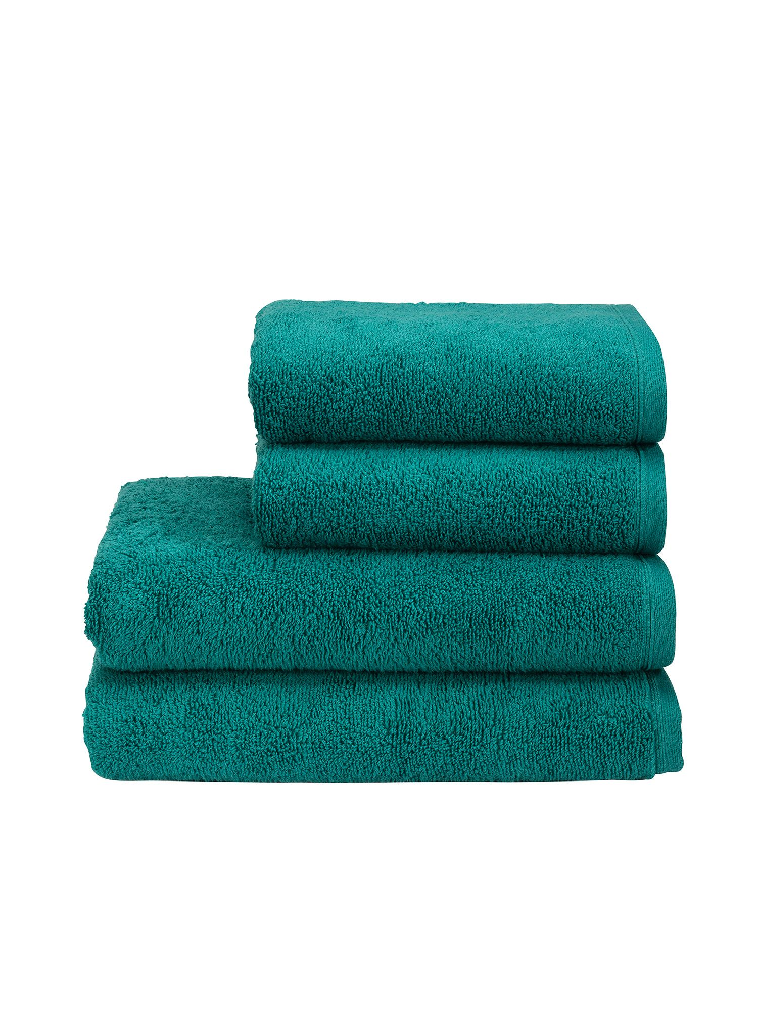 Revive bath towels peacock