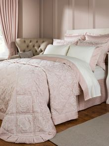 Limoges bed linen in rose