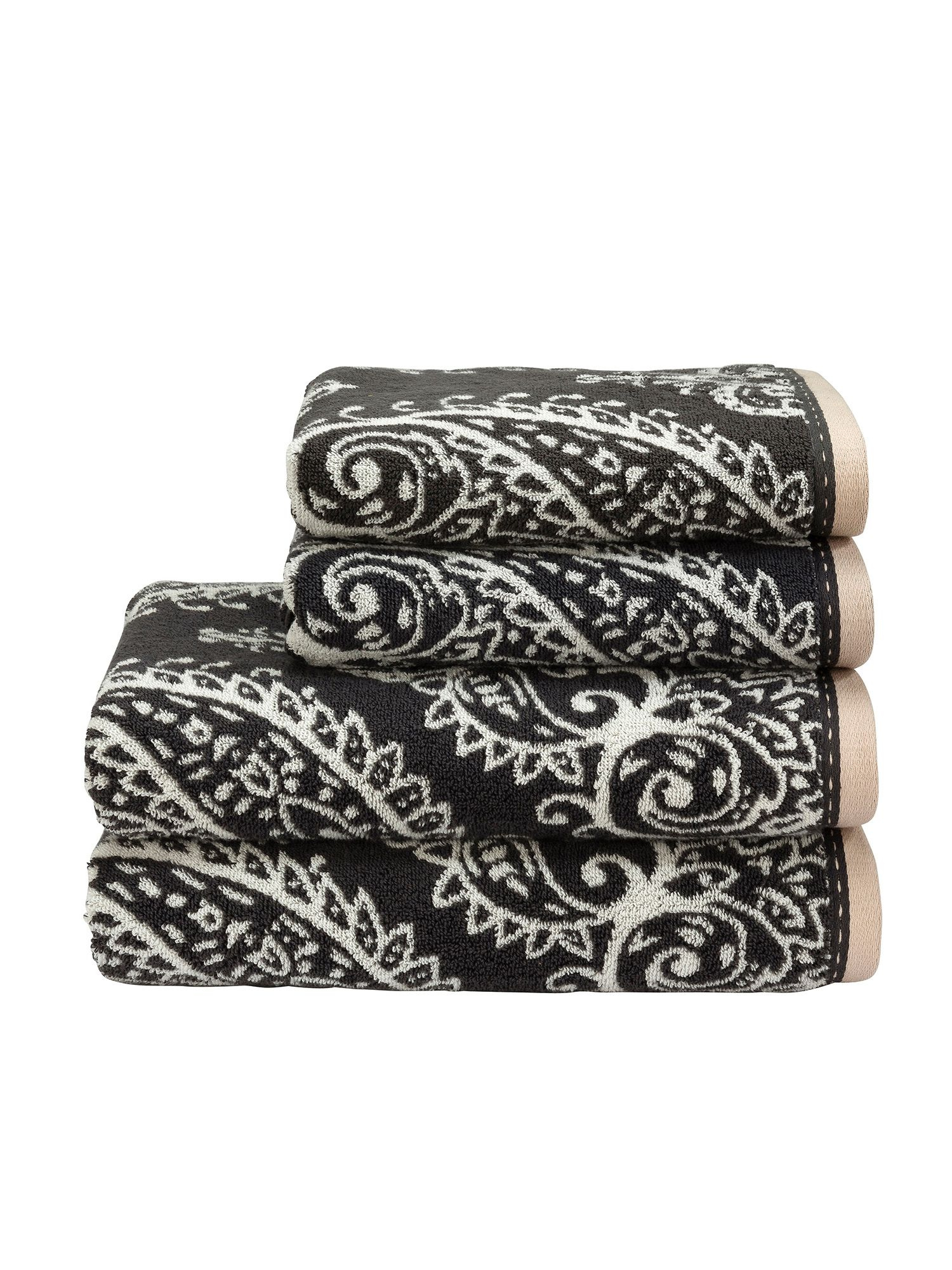 Mandalay towels graphite