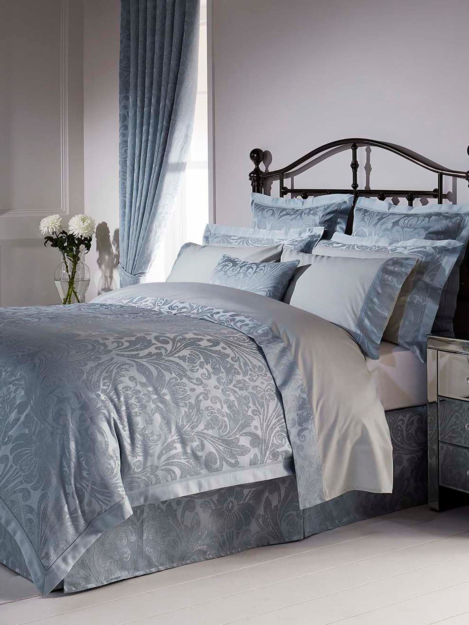 Marianne king duvet teal