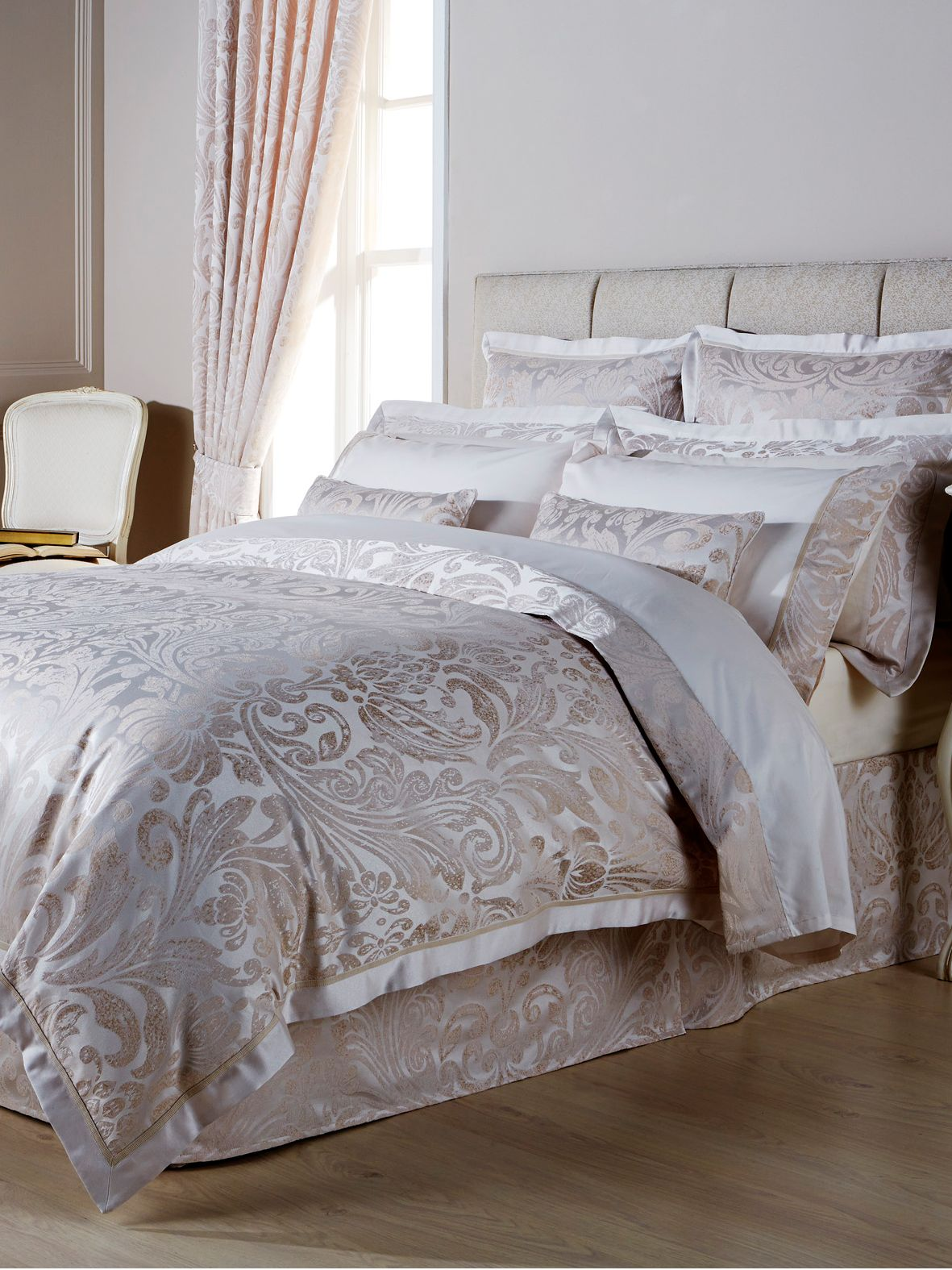 Marianne bed linen ivory