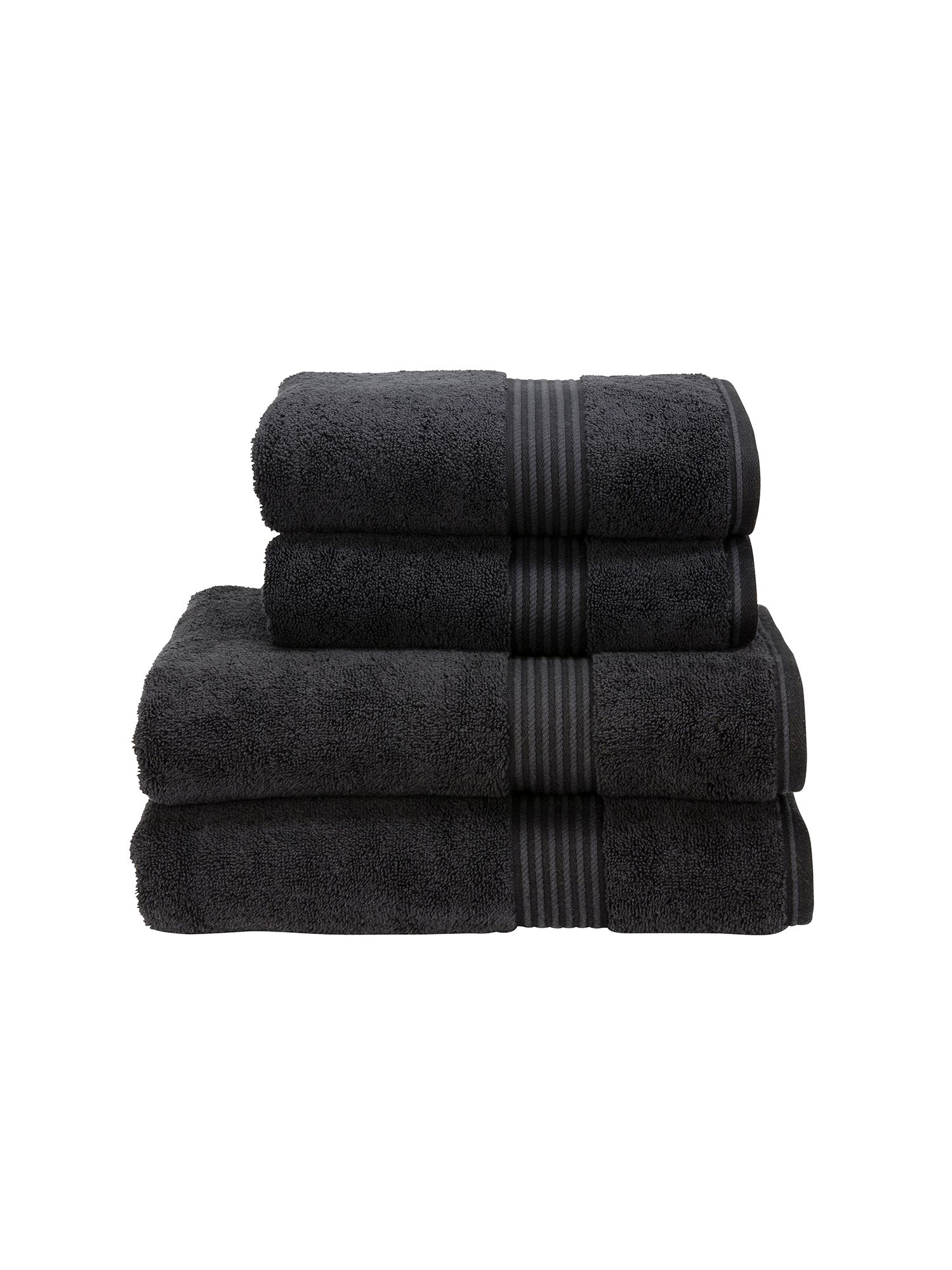 Supreme hygro towels black