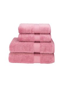 Christy Supreme hygro bath towels blush