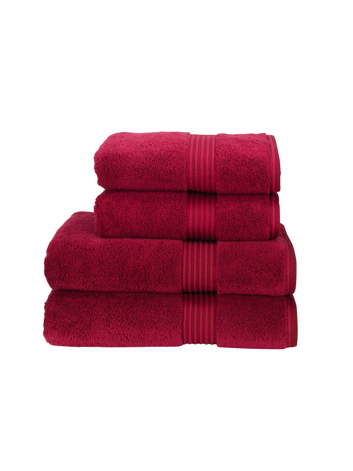 Supreme hygro towels cherry