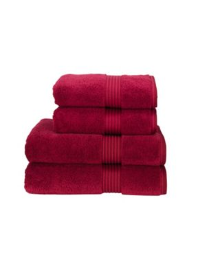 Christy Supreme hygro towels cherry