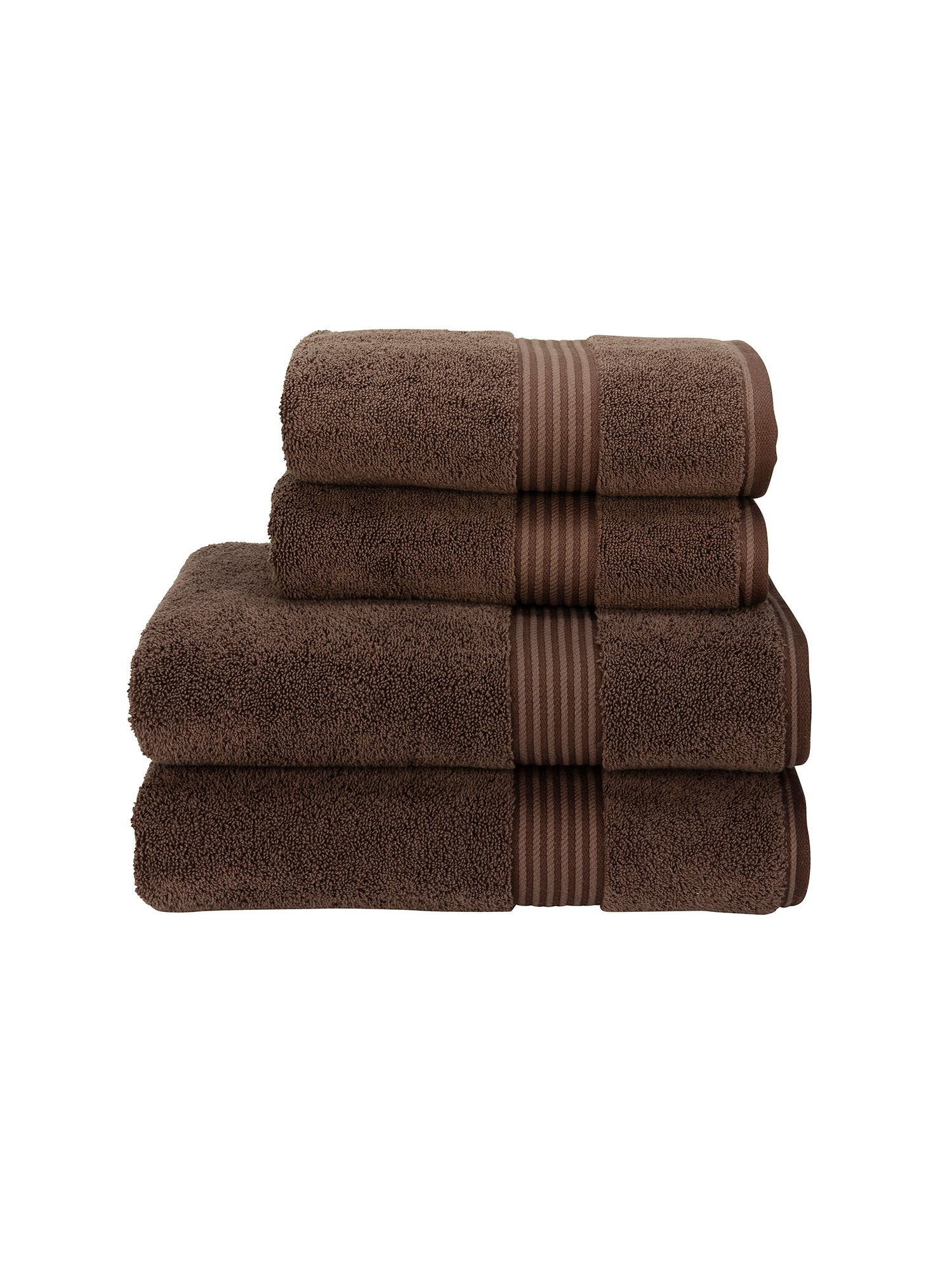 Supreme hygro towels cocoa