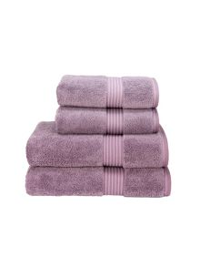 Supreme hygro towels damson