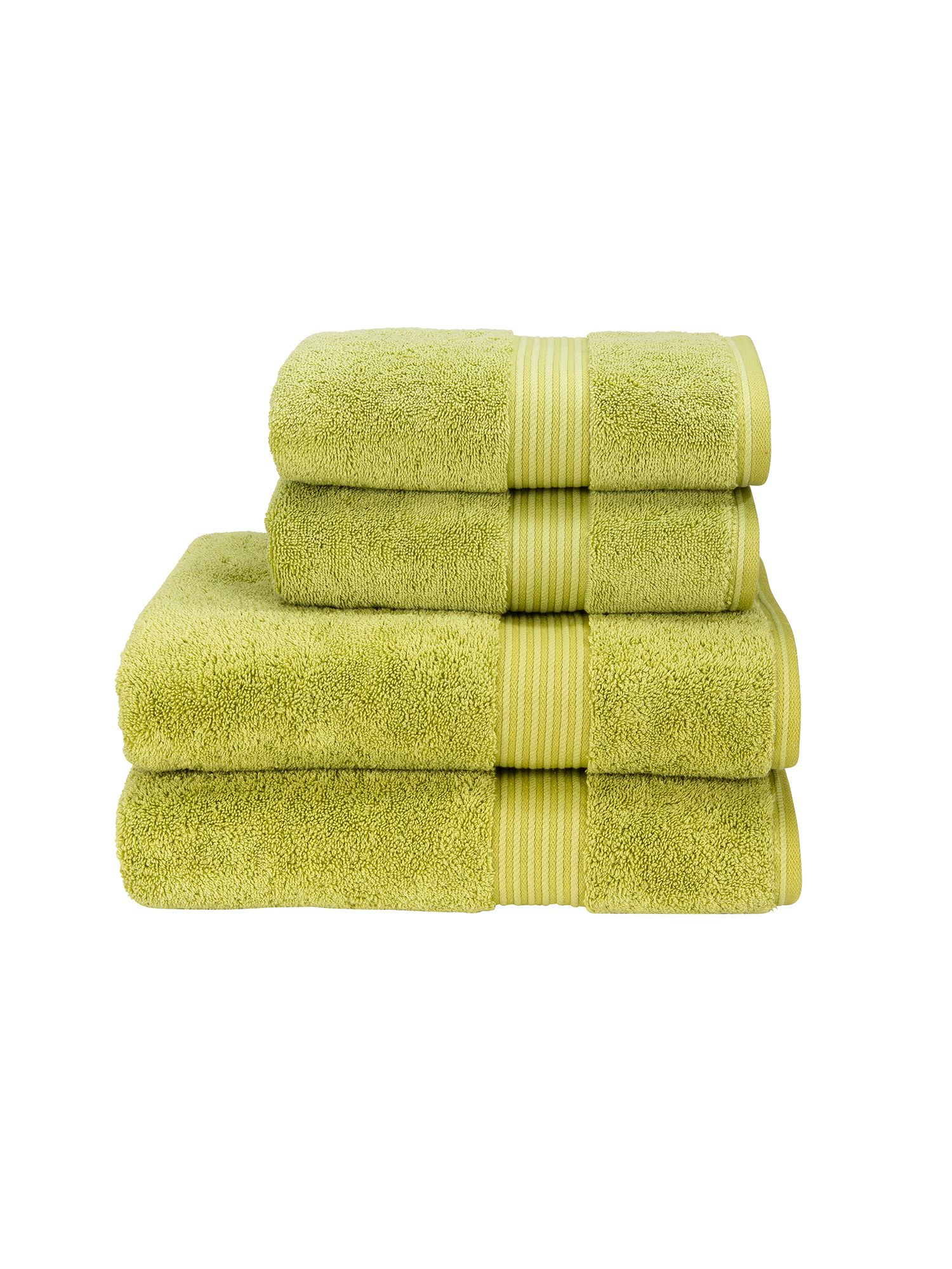 Supreme hygro towels green tea