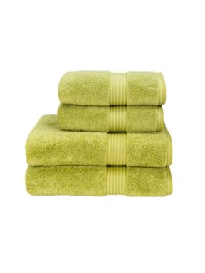 Christy Supreme hygro towels green tea