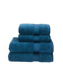 Christy Supreme hygro towels petrol