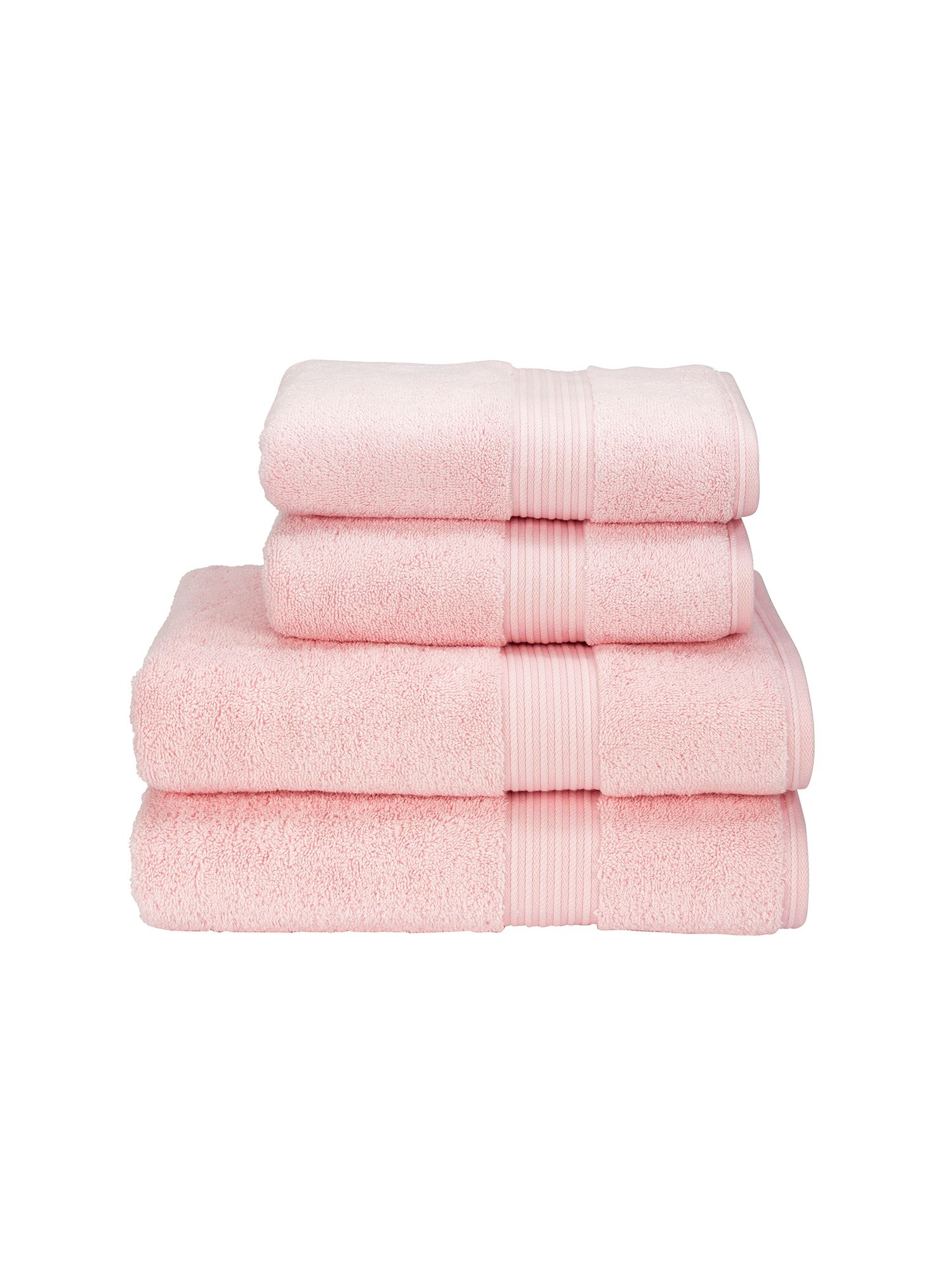 Supreme hygro towels pink