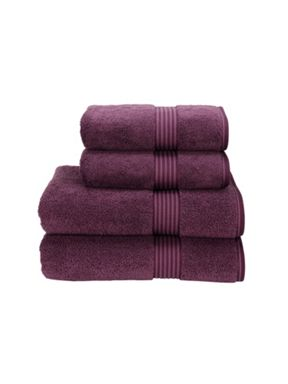 Christy Supreme hygro towels plum