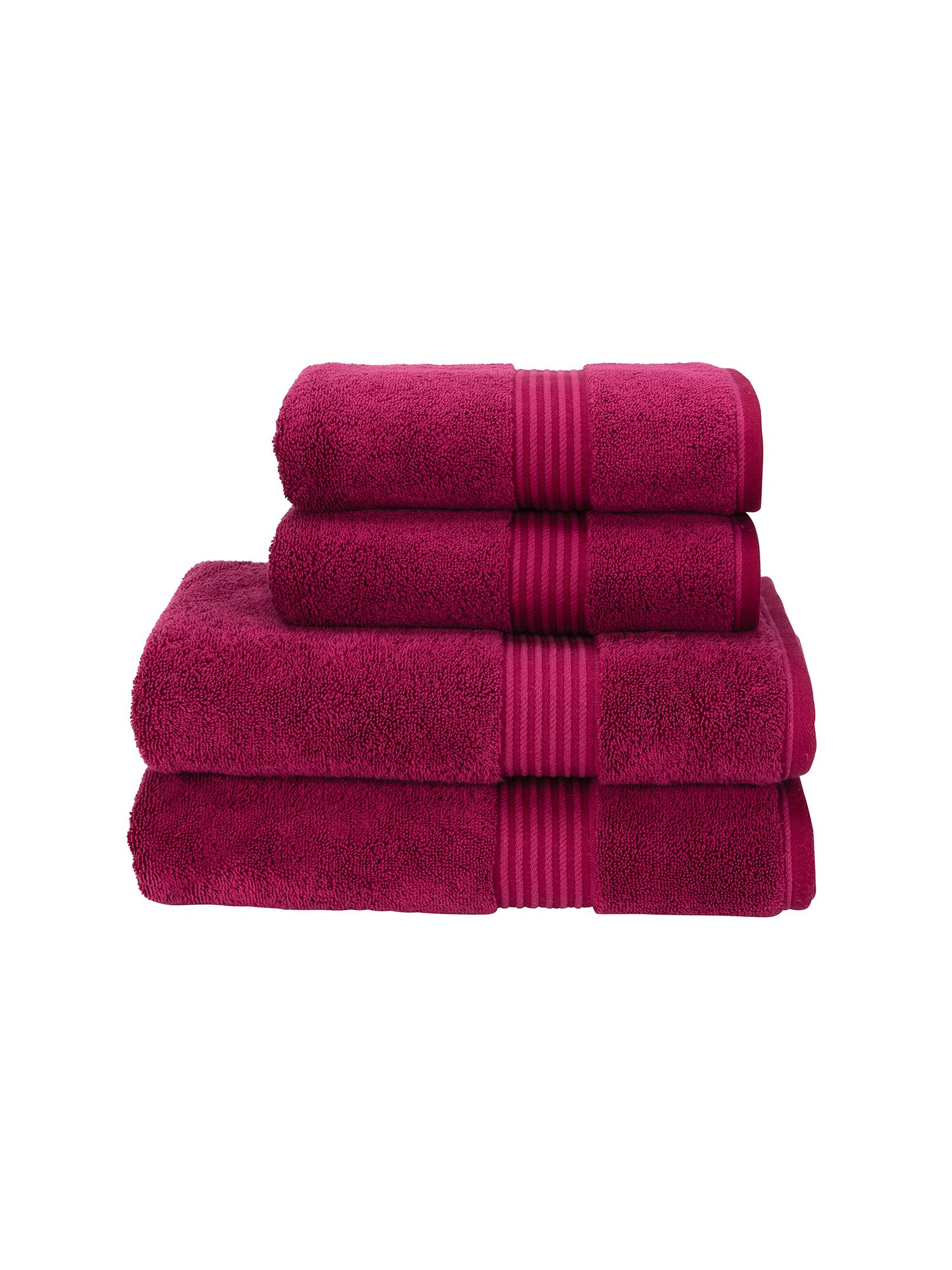 Supreme hygro towels raspberry