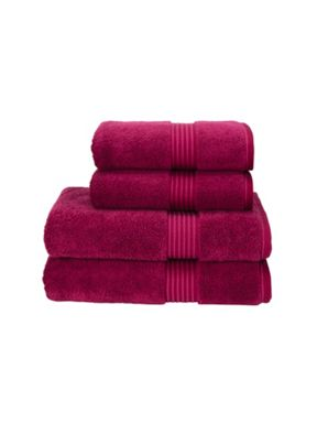 Christy Supreme hygro towels raspberry