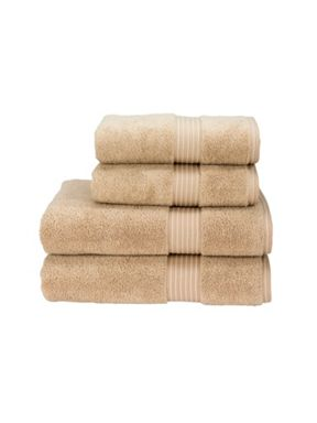 Christy Supreme hygro towels stone