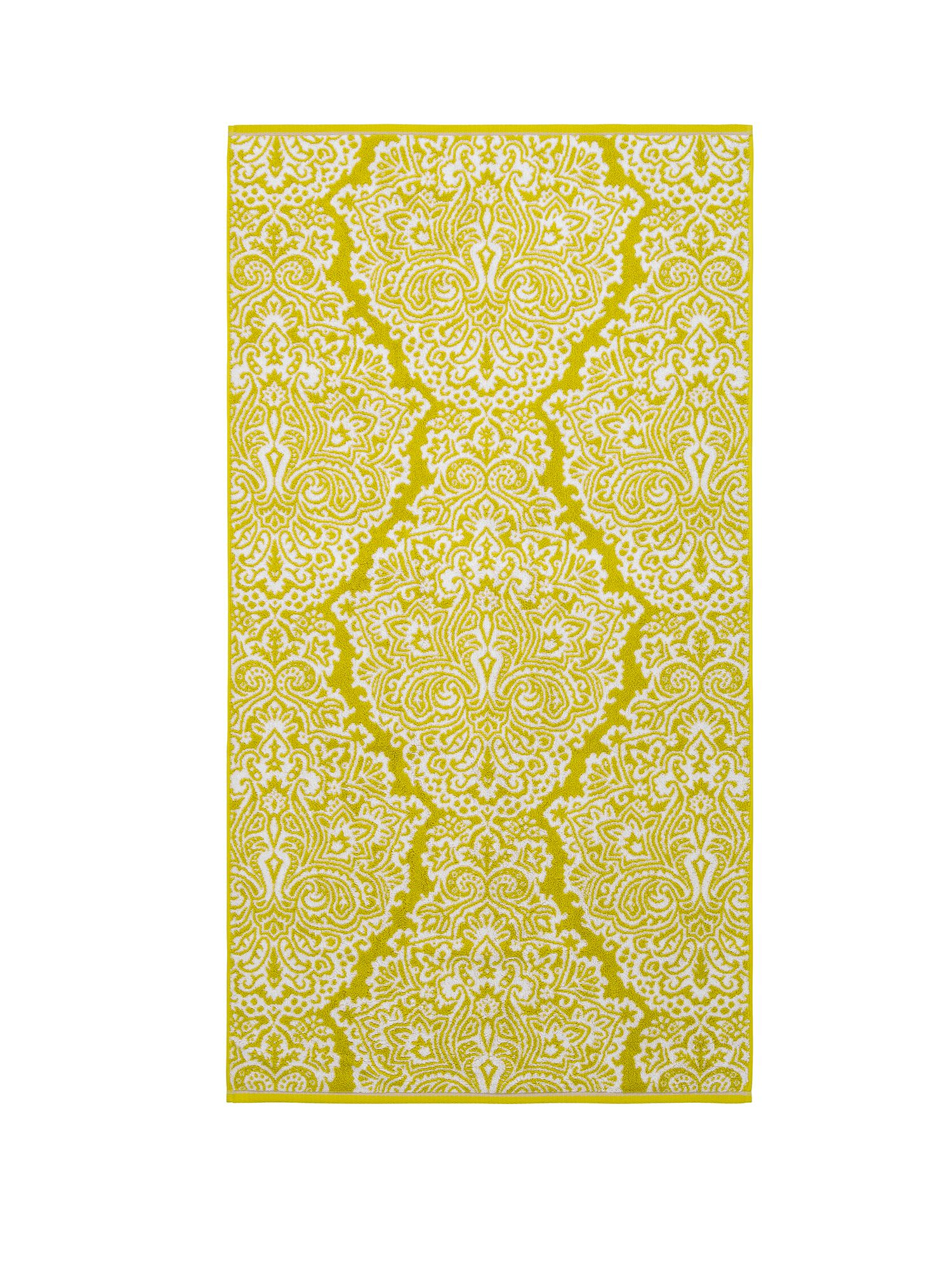 Venezia Jacquard Towels Lime